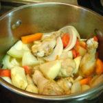 """ティファールの圧力鍋で作った""""鶏肉のクリームシチュー"""""""