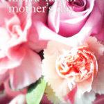 母の日に贈った「日比谷花壇のアレンジメント」