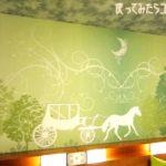 さらに夢の世界が続くホテル。みんな笑顔になるグリーン基調の部屋は居心地よかった!