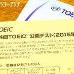 初TOEICの結果から、今後の英語学習方法を考えてみる