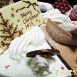 サーティワンのクリスマス・アイスケーキ。予約せずに行ったら売り切れでしたが、通常版でも楽しめました。