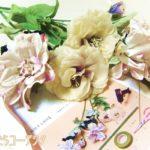やっと課題製作スタート!「花に触れながらSNS用の写真撮影」が楽しい
